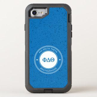 Phi Delta Theta | Badge OtterBox Defender iPhone 8/7 Case