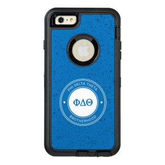Phi Delta Theta   Badge OtterBox Defender iPhone Case