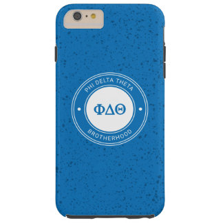 Phi Delta Theta   Badge Tough iPhone 6 Plus Case