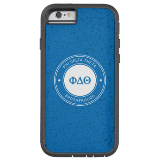 Phi Delta Theta | Badge Tough Xtreme iPhone 6 Case