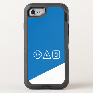 Phi Delta Theta | Greek Letters OtterBox Defender iPhone 8/7 Case
