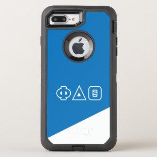 Phi Delta Theta | Greek Letters OtterBox Defender iPhone 8 Plus/7 Plus Case
