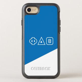 Phi Delta Theta | Greek Letters OtterBox Symmetry iPhone 8/7 Case