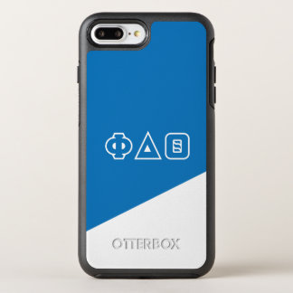 Phi Delta Theta | Greek Letters OtterBox Symmetry iPhone 8 Plus/7 Plus Case