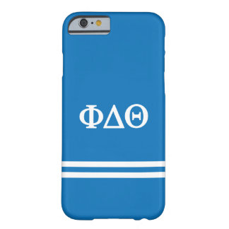 Phi Delta Theta | Sport Stripe Barely There iPhone 6 Case