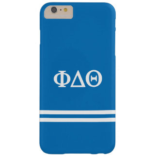 Phi Delta Theta | Sport Stripe Barely There iPhone 6 Plus Case