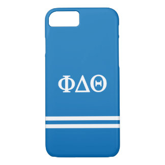 Phi Delta Theta   Sport Stripe iPhone 7 Case
