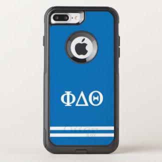 Phi Delta Theta | Sport Stripe OtterBox Commuter iPhone 8 Plus/7 Plus Case