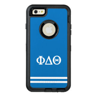 Phi Delta Theta | Sport Stripe OtterBox Defender iPhone Case