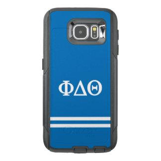 Phi Delta Theta | Sport Stripe OtterBox Samsung Galaxy S6 Case