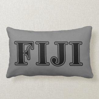 Phi Gamma Delta Black Letters Lumbar Pillow
