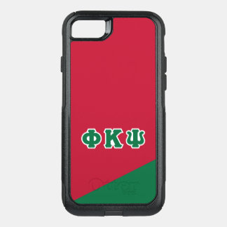 Phi Kappa Psi   Greek Letters OtterBox Commuter iPhone 8/7 Case