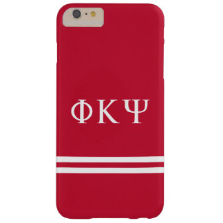 Phi Kappa Psi | Sport Stripe Barely There iPhone 6 Plus Case
