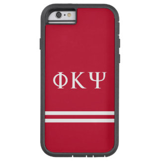 Phi Kappa Psi | Sport Stripe Tough Xtreme iPhone 6 Case