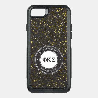 Phi Kappa Sigma | Badge OtterBox Commuter iPhone 8/7 Case