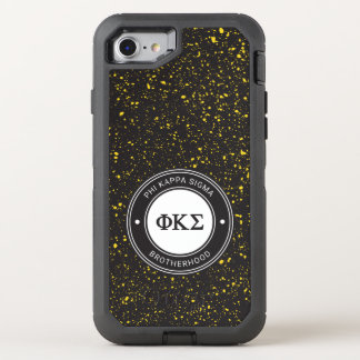 Phi Kappa Sigma | Badge OtterBox Defender iPhone 8/7 Case