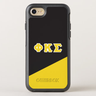 Phi Kappa Sigma | Greek Letters OtterBox Symmetry iPhone 8/7 Case