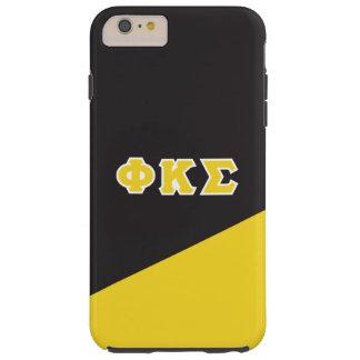 Phi Kappa Sigma   Greek Letters Tough iPhone 6 Plus Case