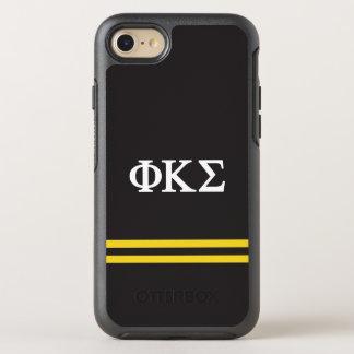 Phi Kappa Sigma | Sport Stripe OtterBox Symmetry iPhone 8/7 Case