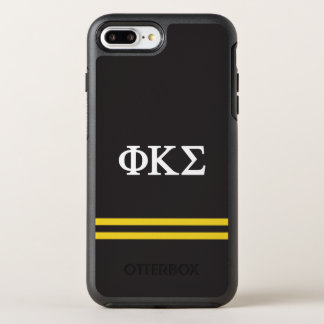Phi Kappa Sigma | Sport Stripe OtterBox Symmetry iPhone 8 Plus/7 Plus Case