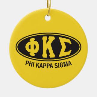 Phi Kappa Sigma   Vintage Ceramic Ornament