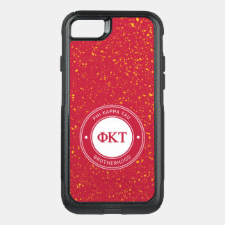 Phi Kappa Tau | Badge OtterBox Commuter iPhone 8/7 Case