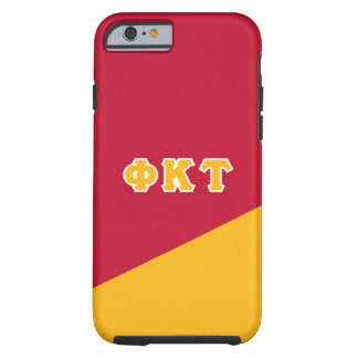 Phi Kappa Tau | Greek Letters Tough iPhone 6 Case