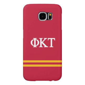 Phi Kappa Tau | Sport Stripe Samsung Galaxy S6 Cases