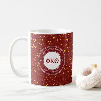 Phi Kappa Theta   Badge Coffee Mug