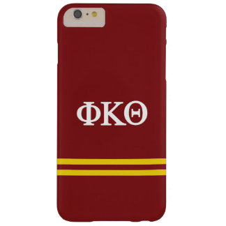 Phi Kappa Theta | Sport Stripe Barely There iPhone 6 Plus Case