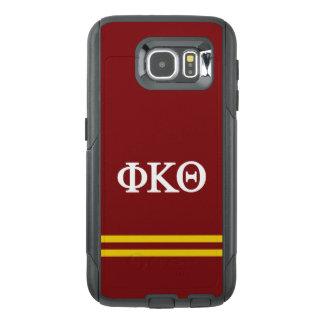 Phi Kappa Theta | Sport Stripe OtterBox Samsung Galaxy S6 Case