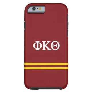 Phi Kappa Theta   Sport Stripe Tough iPhone 6 Case