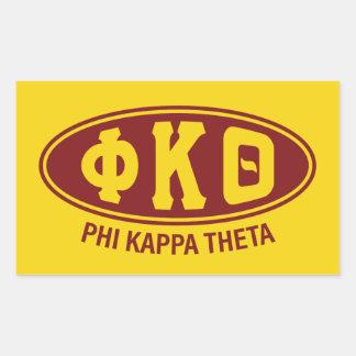 Phi Kappa Theta   Vintage Sticker