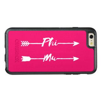 Phi Mu Arrow OtterBox iPhone 6/6s Plus Case
