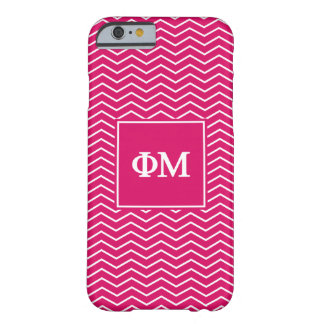 Phi Mu | Chevron Pattern Barely There iPhone 6 Case