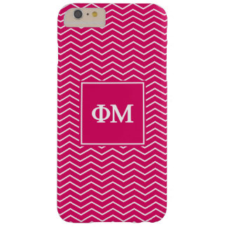 Phi Mu | Chevron Pattern Barely There iPhone 6 Plus Case