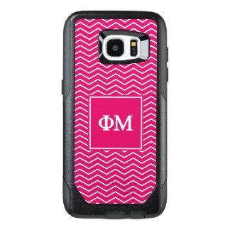 Phi Mu | Chevron Pattern OtterBox Samsung Galaxy S7 Edge Case