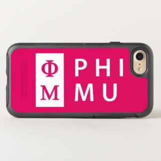 Phi Mu Stacked OtterBox Symmetry iPhone 8/7 Case
