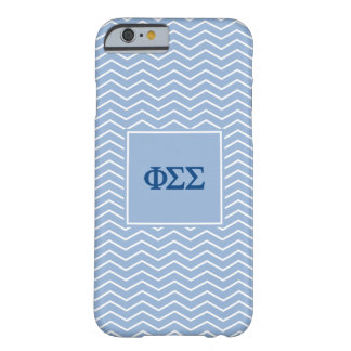 Phi Sigma Sigma | Chevron Pattern Barely There iPhone 6 Case