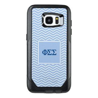 Phi Sigma Sigma | Chevron Pattern OtterBox Samsung Galaxy S7 Edge Case