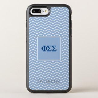 Phi Sigma Sigma | Chevron Pattern OtterBox Symmetry iPhone 7 Plus Case