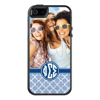 Phi Sigma Sigma   Monogram and Photo OtterBox iPhone 5/5s/SE Case