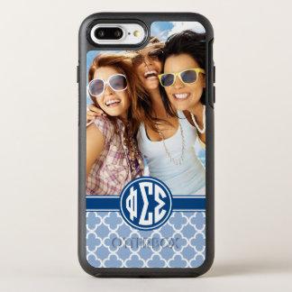 Phi Sigma Sigma | Monogram and Photo OtterBox Symmetry iPhone 8 Plus/7 Plus Case