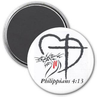 Phil 4:13 Magnet