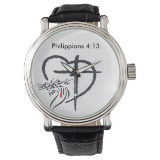 Phil 4:13 Men's Watch