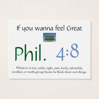 Phil 4:8 knowledge card