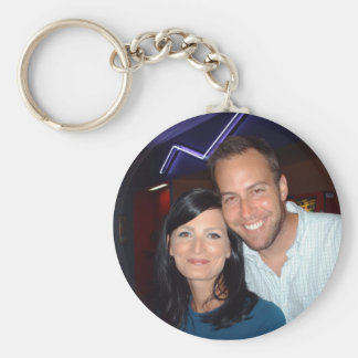 Phil and Jess Basic Round Button Keychain