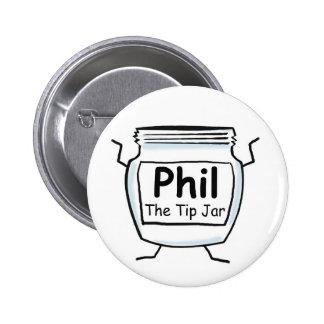 Phil The Tip Jar Button