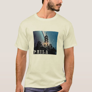 Phila City Hall Blues T-Shirt