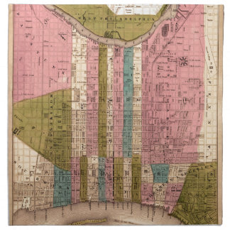 Philadelphia 1838 napkin